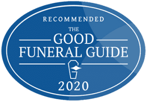 Recommended by the Good Funeral Guide 2020