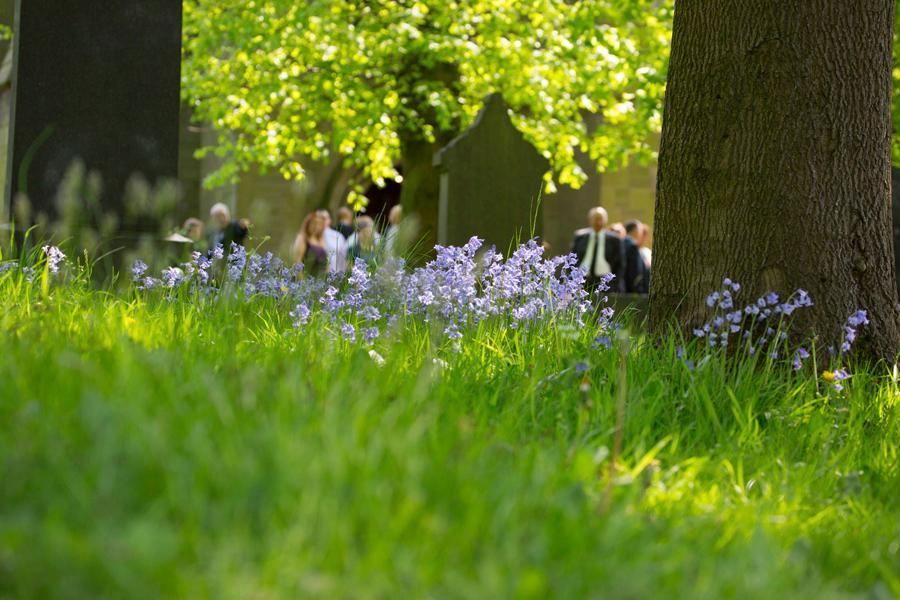 bluebells funeral photograph