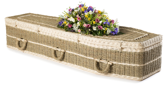 Pandanus eco-coffin